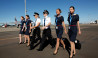 flight simulator melbourne group of pilots and flight attendants in uniform