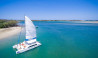 sailing in paradise sail boat Gold Coast Broadwater
