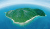 Raging Thunder Adventures aerial view fitroy island great barrier reef queensland