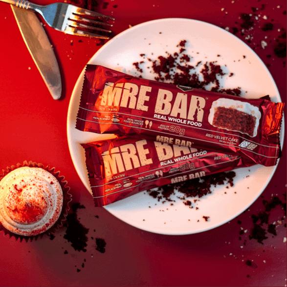 Mre Bar Two Red Velvet Plate