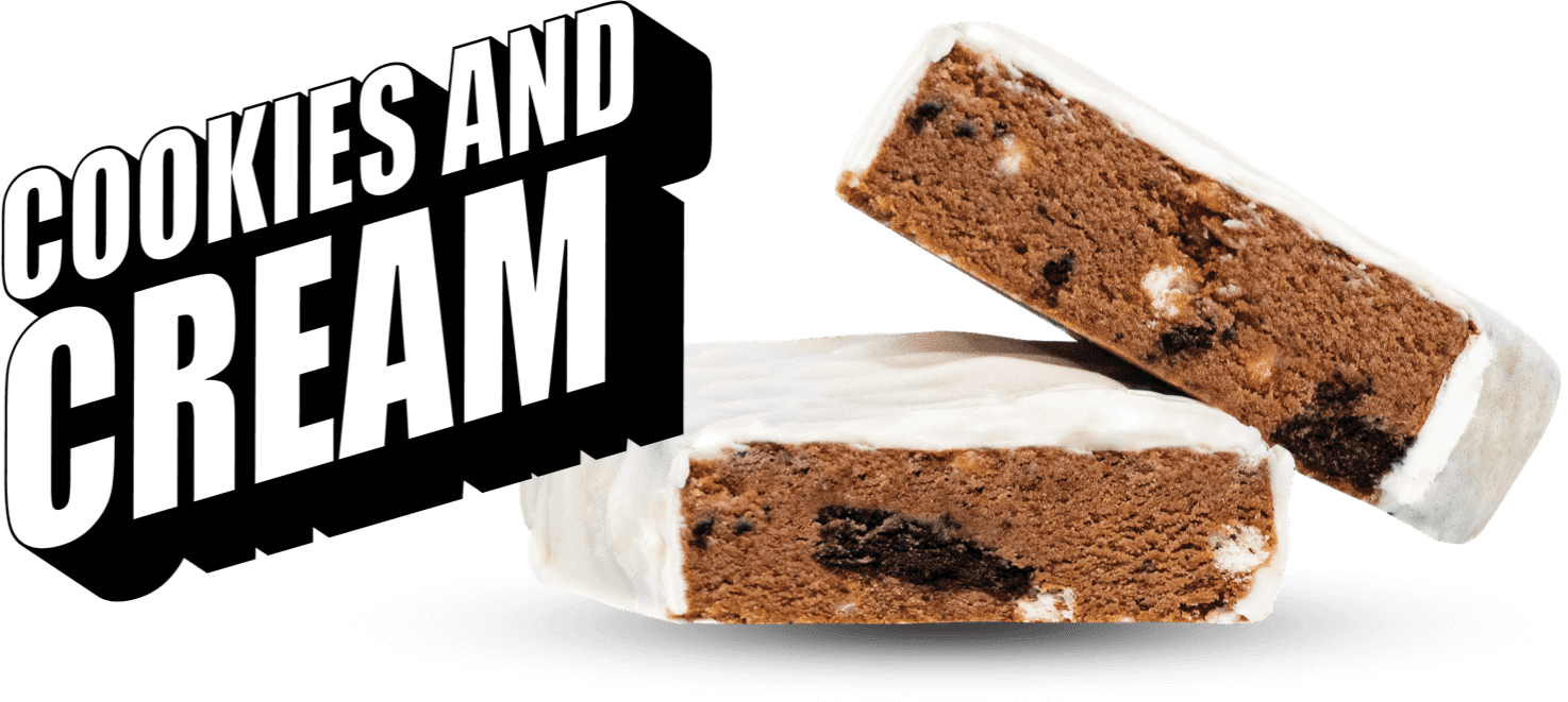 Cookies and Cream logo banner