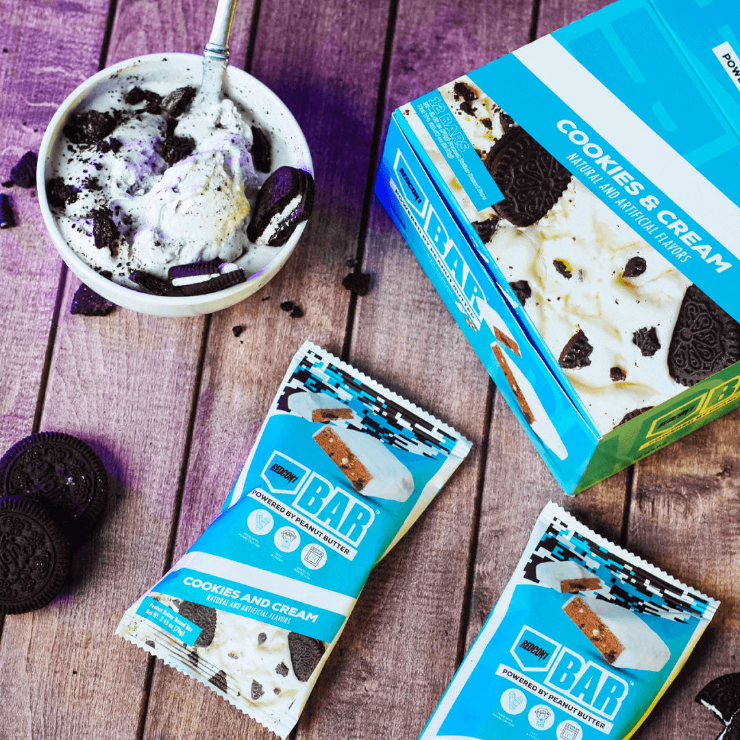Cookies and Cream Bars with Ice Cream
