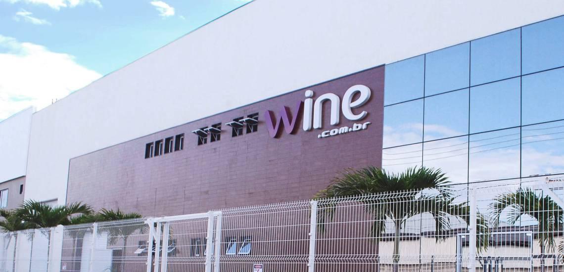 Na imagem, a fachada a empresa Wine, maior e-commerce de vinhos da América Latina, que está sediada no Espírito Santo.