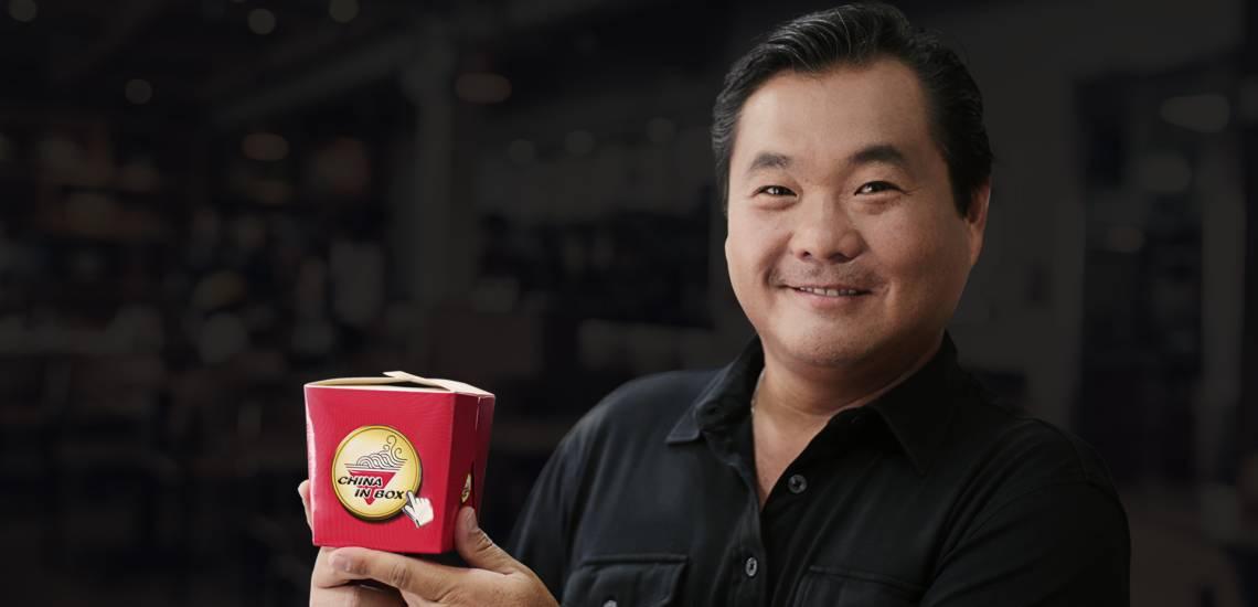 Na imagem, Robinson Shiba, fundador da China In Box, e empreendedor serial. É também apresentador do Shark Tank