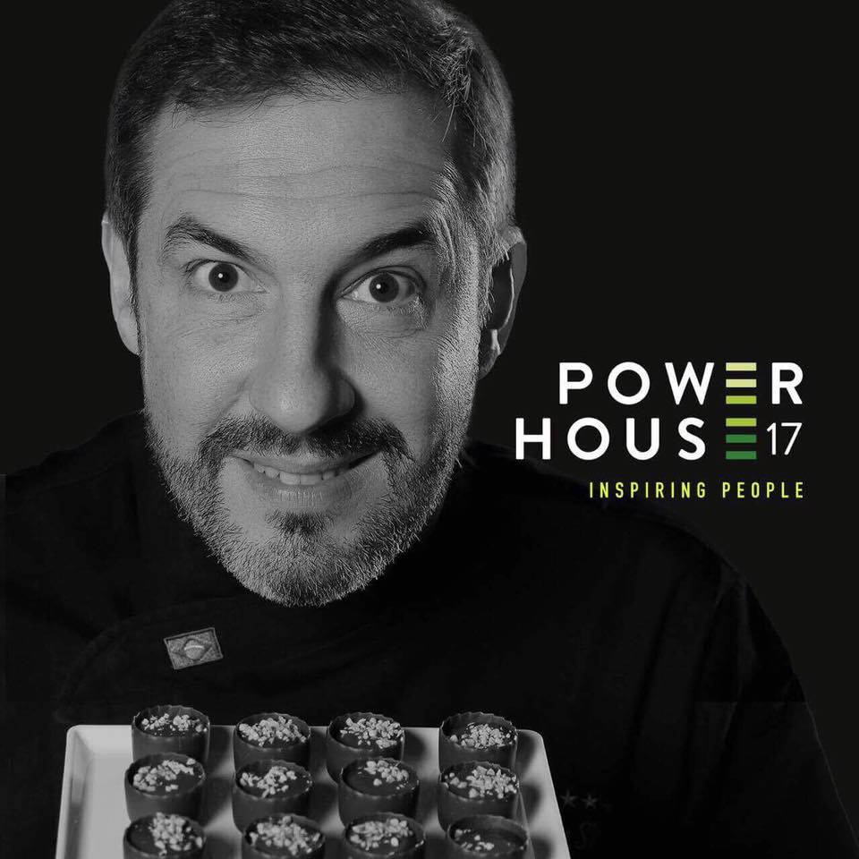 Alexandre Costa, fundador da Cacau Show, no evento Power House 17