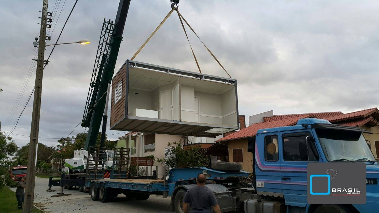 Casas sustentáveis da Brasil ao Cubo