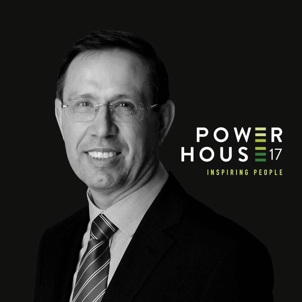 Carlos Wizard no maior evento evento de empreendedorismo, o Power House 17