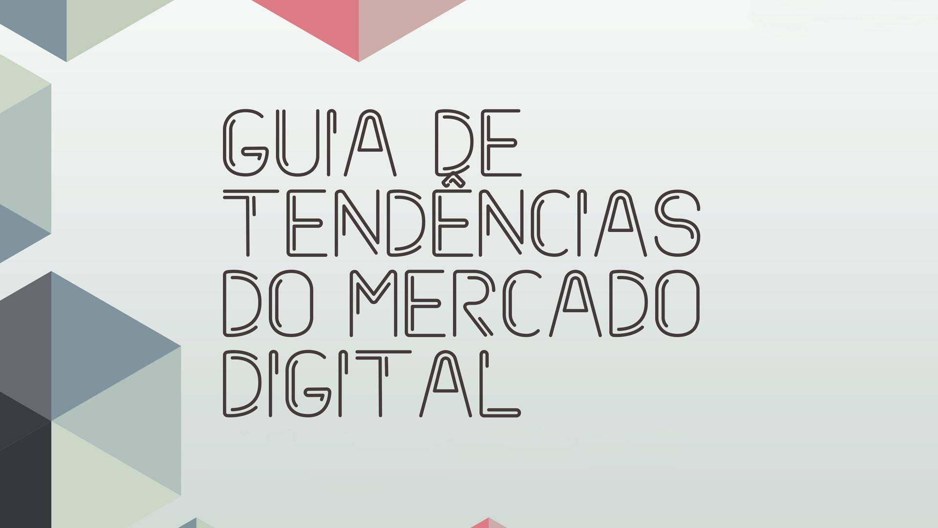 Ilustração sobre o Guia de Tendências do Mercado Digital