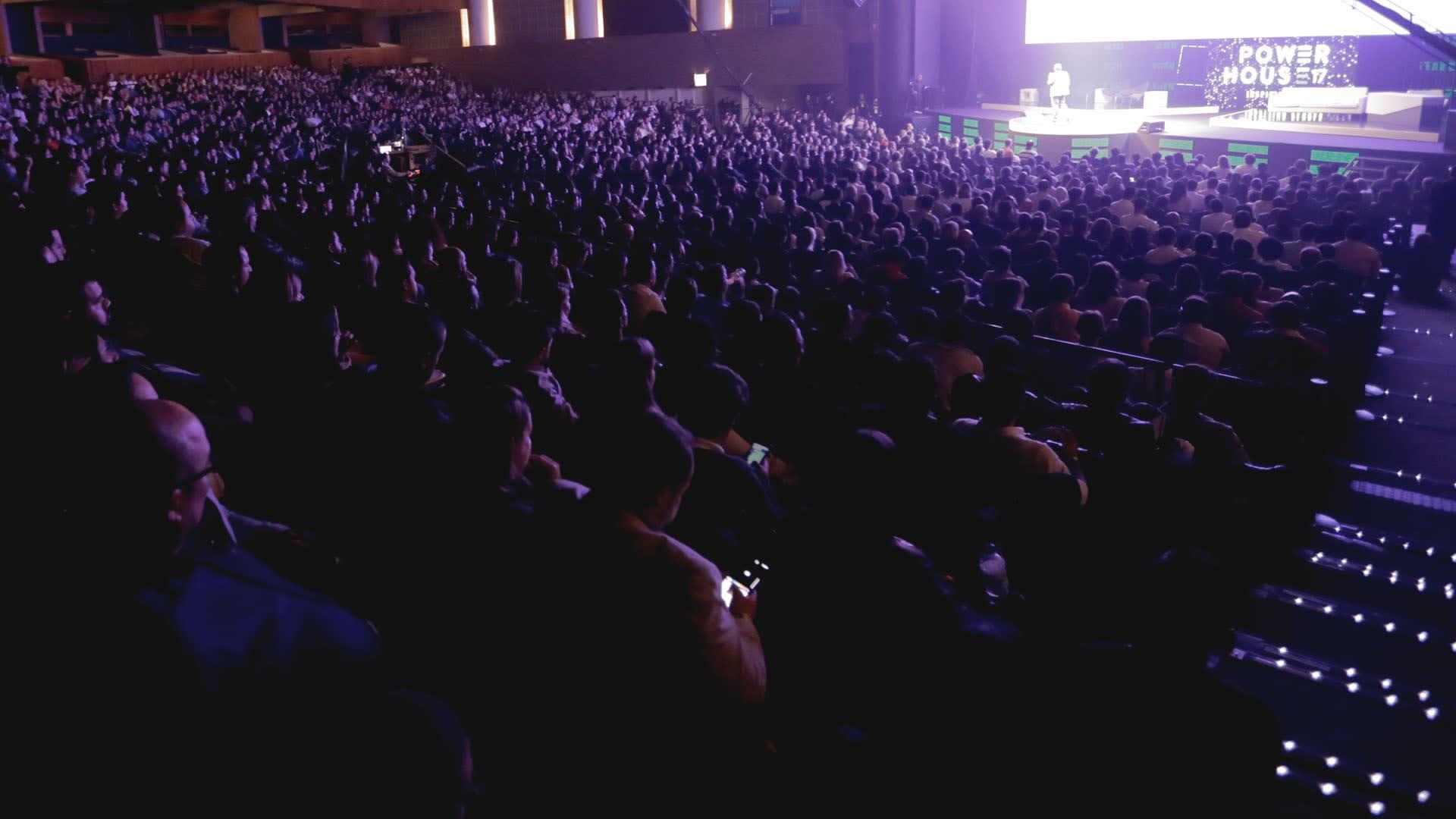 Na imagem, plateia que participou do Power House 2017.