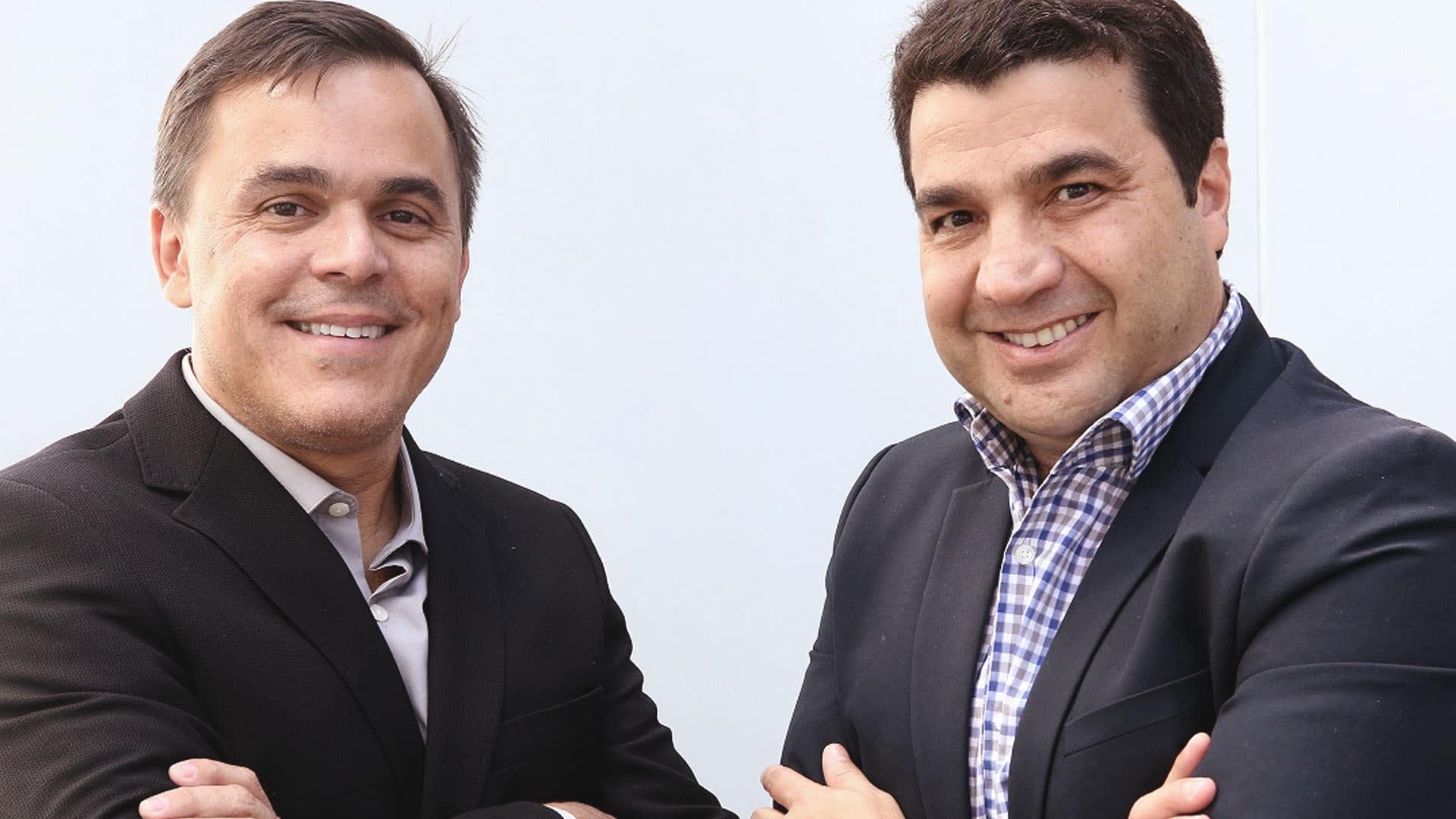 Na foto, João Kepler e Pierre Schurmann, fundadores da Bossa Nova Investimentos