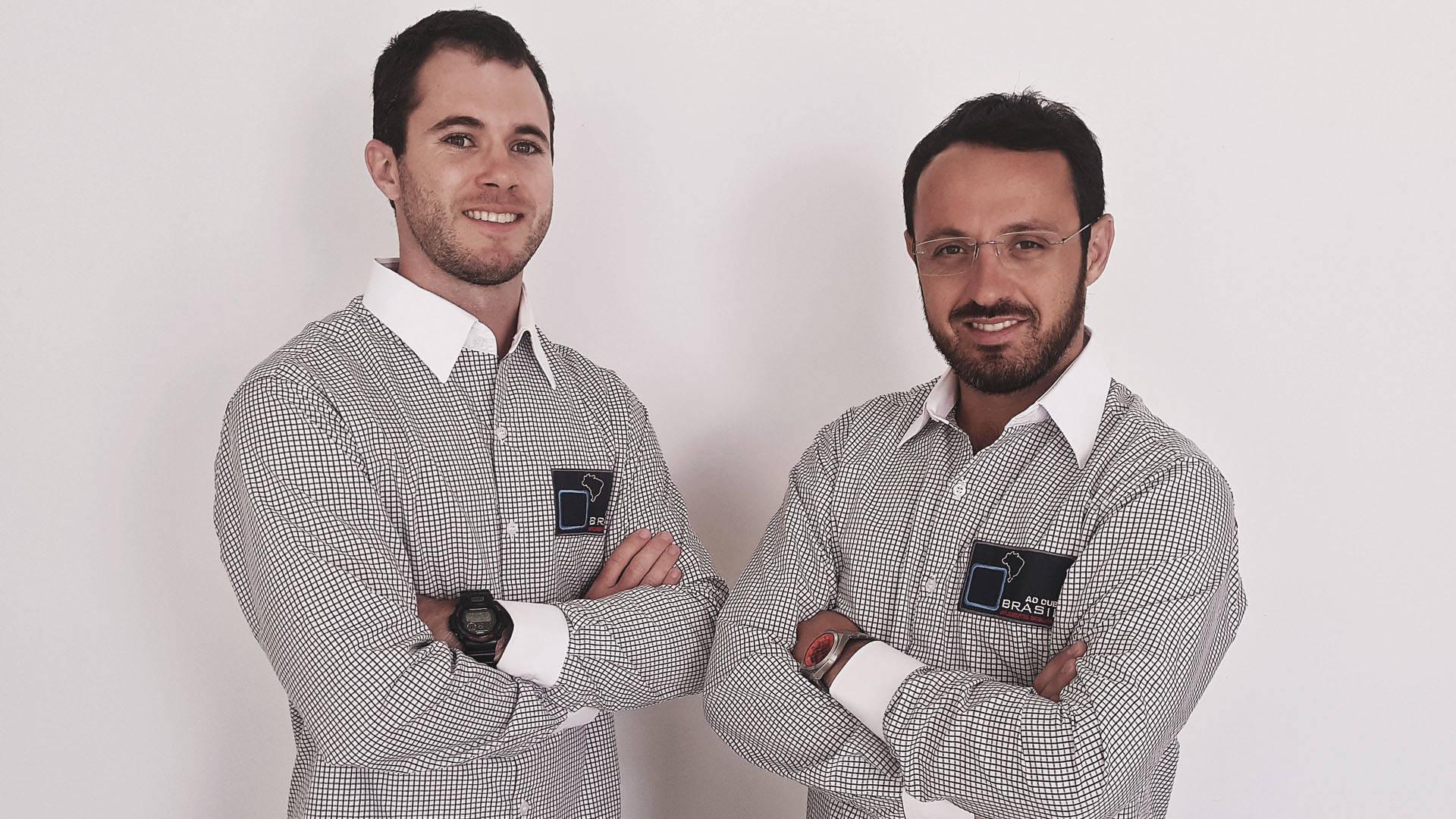 Empreendedores Ricardo Mateus e Michel Dacoreggio da Brasil ao Cubo