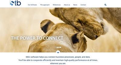 Stb website screenshot