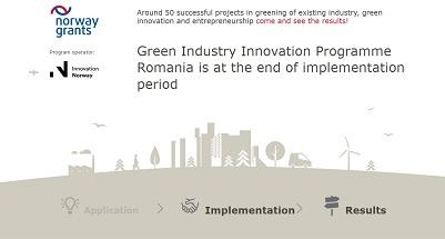 Snapshot of the norwaygrants-greeninnovation.no website