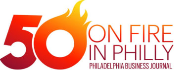 2016 Philly 50 on Fire - Philadlephia Business Journal