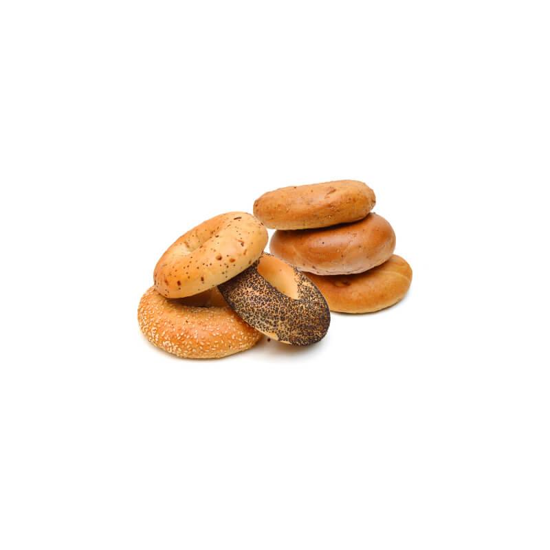 Blueberry & Cinnamon Raisin Bagels 6 ct