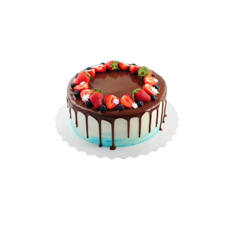 Desserts Cake, Raspberry Dark Chocolate 2 lb
