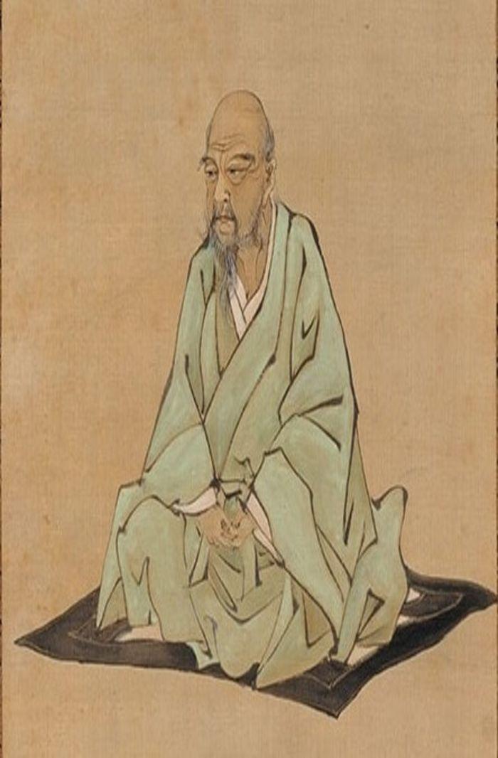 Portrait_of_Itō_Jakuchū_by_Kubota_Beisen, ukiyo-e master