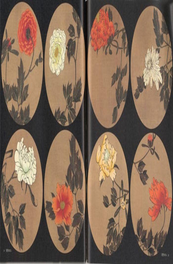 The Jakuchū gafu flower series, ukiyo-e