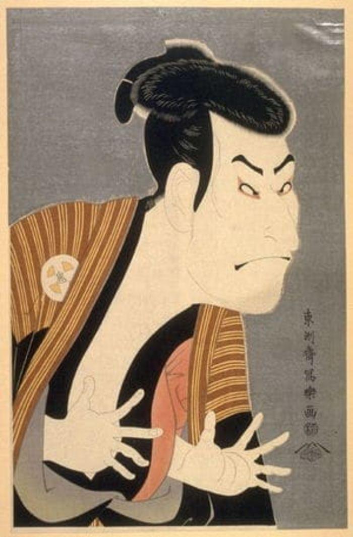 The Actor Otani Oniji III by Toshusai Sharaku, c.1794, ukiyo-e, yakusha-e
