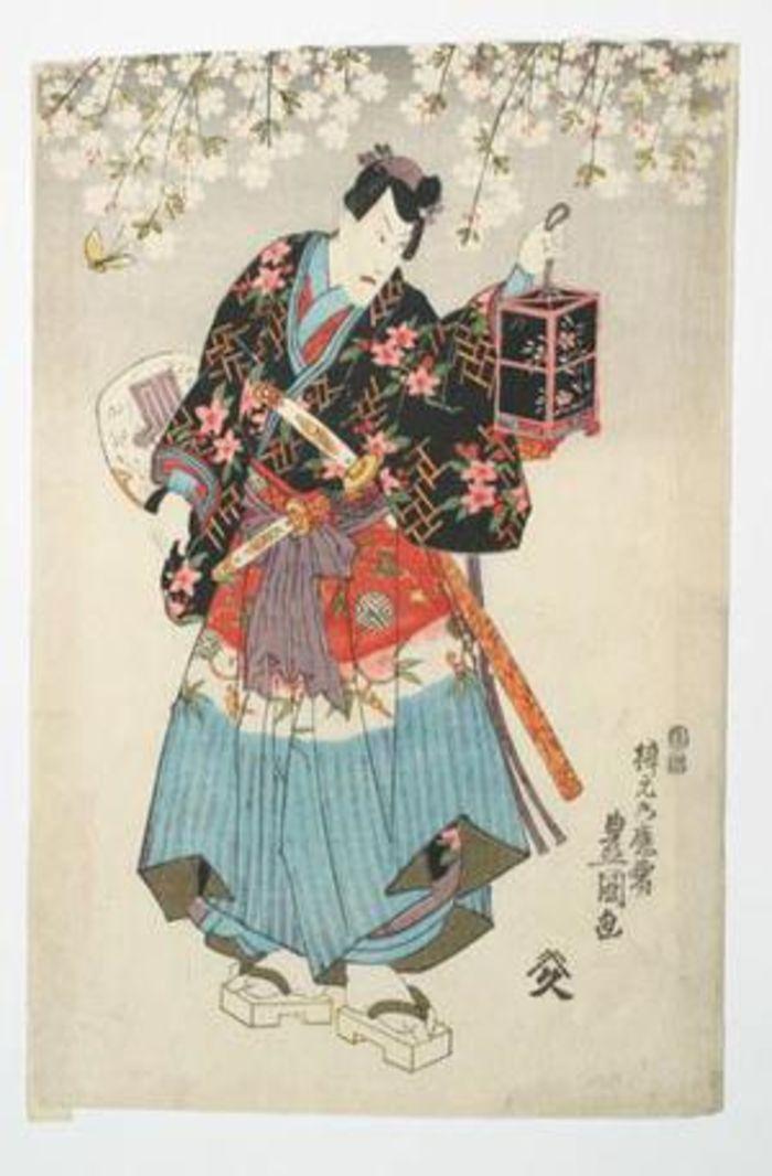 Kabuki Scene, by Utagawa Kunisada,c. 1850, ukiyo-e, yakusha-e