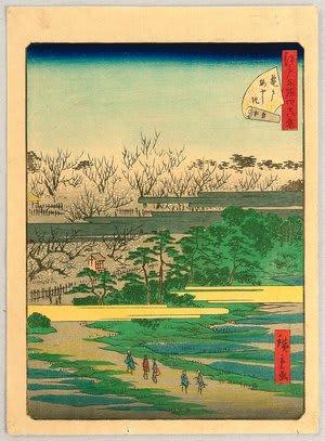 48 Famous Places of Edo by Utagawa hiroshige III