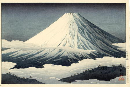 Near Omuro, Shotei Takahashi, c. 1920, kacho-e