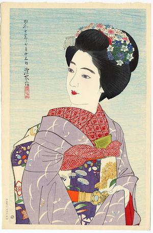 Maiko, by Ito Shinsui, c.1935, bijin-ga