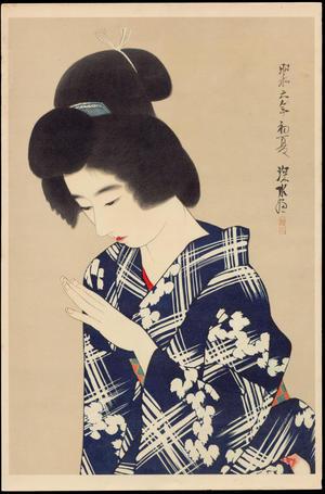 No. 0 - Grace (1), by Ito Shinsui, c. 1931, bijin-ga