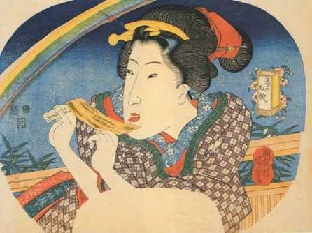 """""""Spring Rainbow"""" by Kuniyoshi Utagawa"""