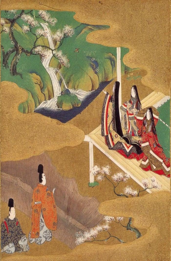 Scene from The Tale of Genji