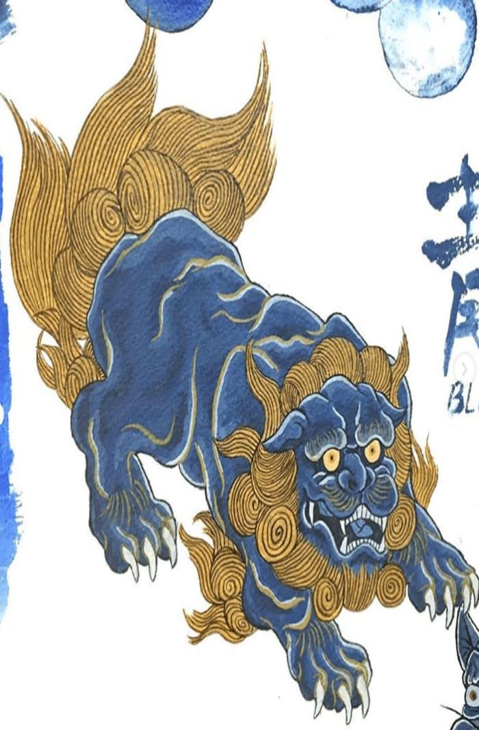 Lion by Kenji iwasaki