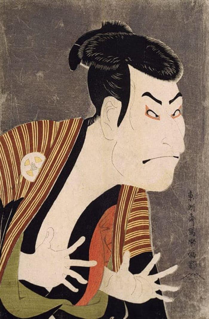 Ōtani Oniji III by Sharaku