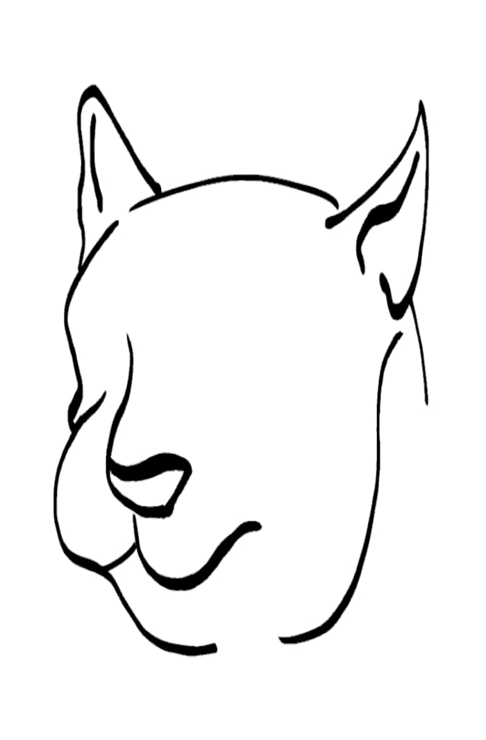Cat -ukiyo-e BlackandWhite 4 - (猫) by RedSparkle (12-2019)