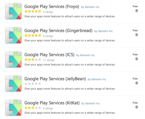 Google Play Services Chaos