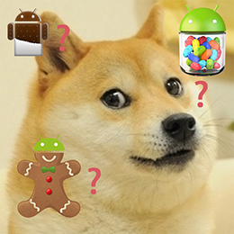 Such API Levels, Much Android, So confuse