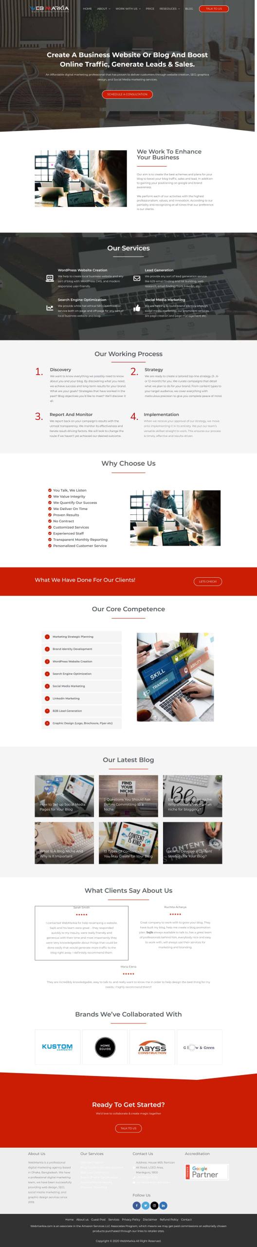 webmarkia