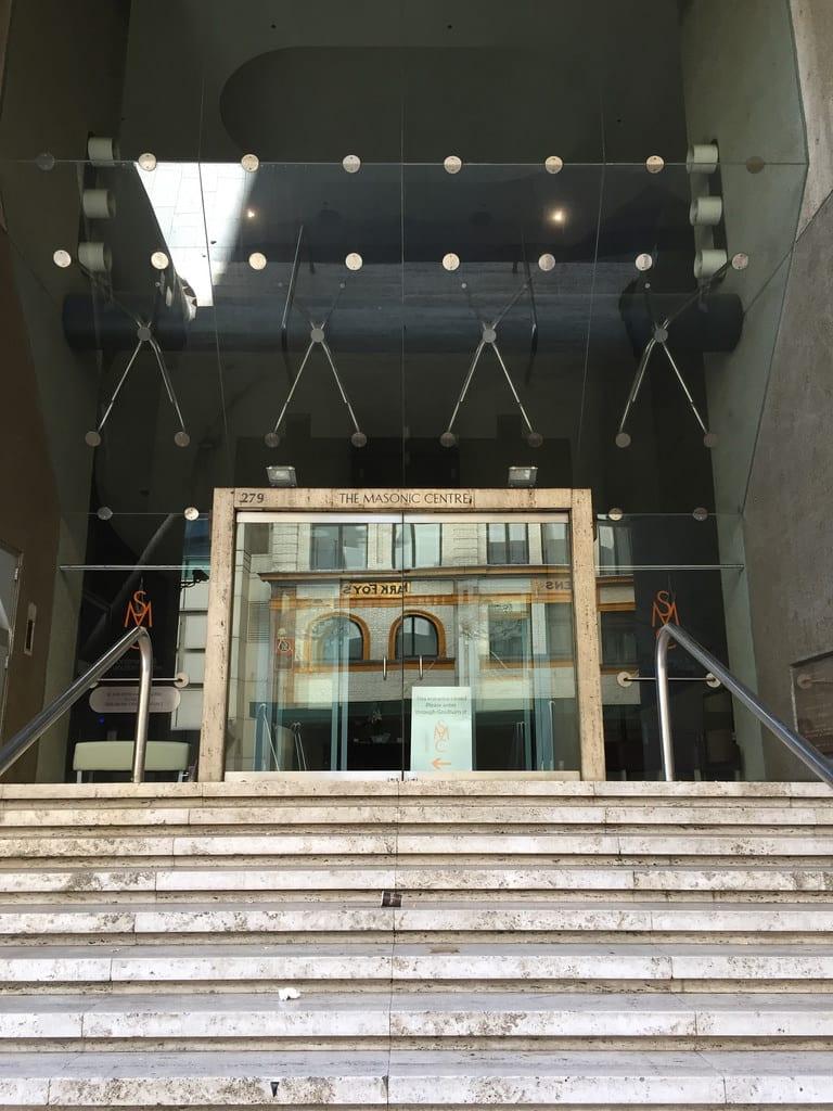 Sydney Masonic Centre / Red Wolf