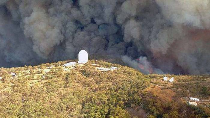 Siding Springs Observatory Fire