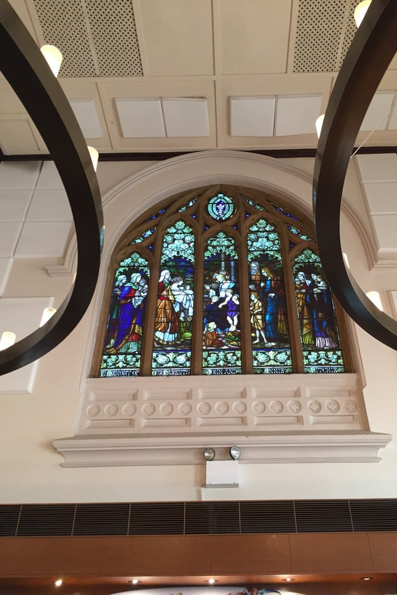 Church Ceiling / Red Wolf