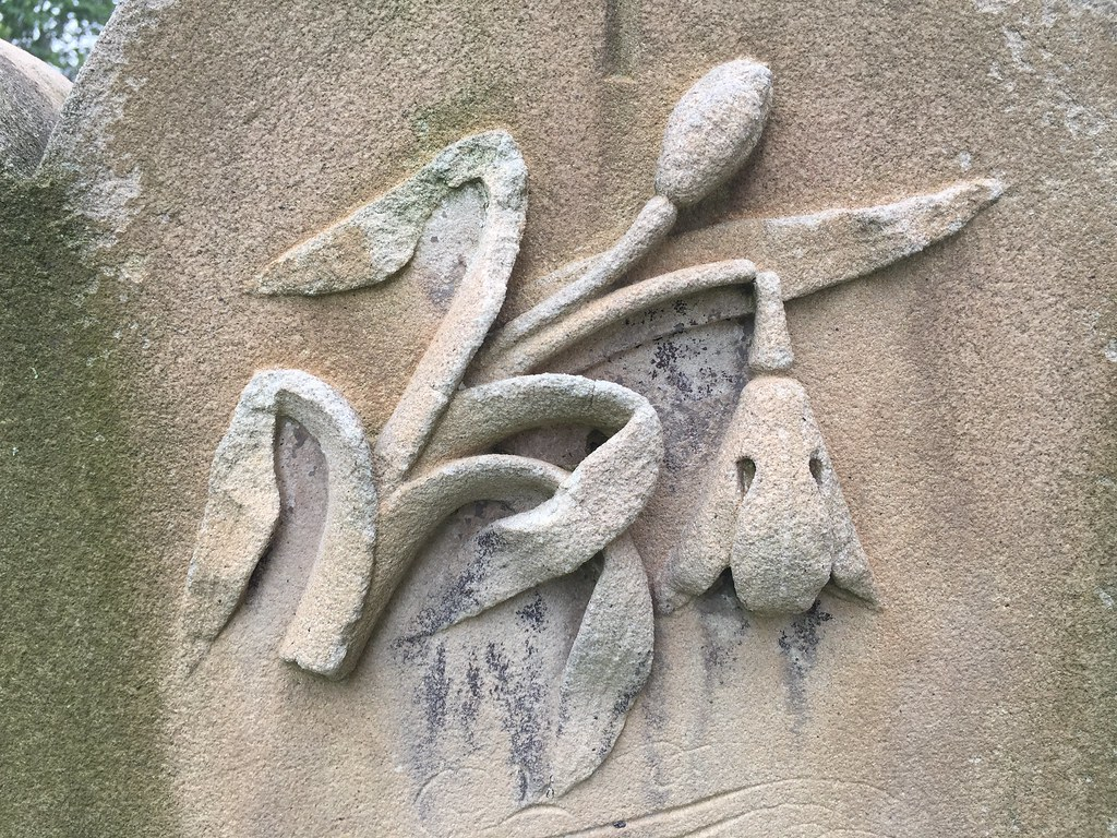 Gilbert Hugh headstone / Red Wolf