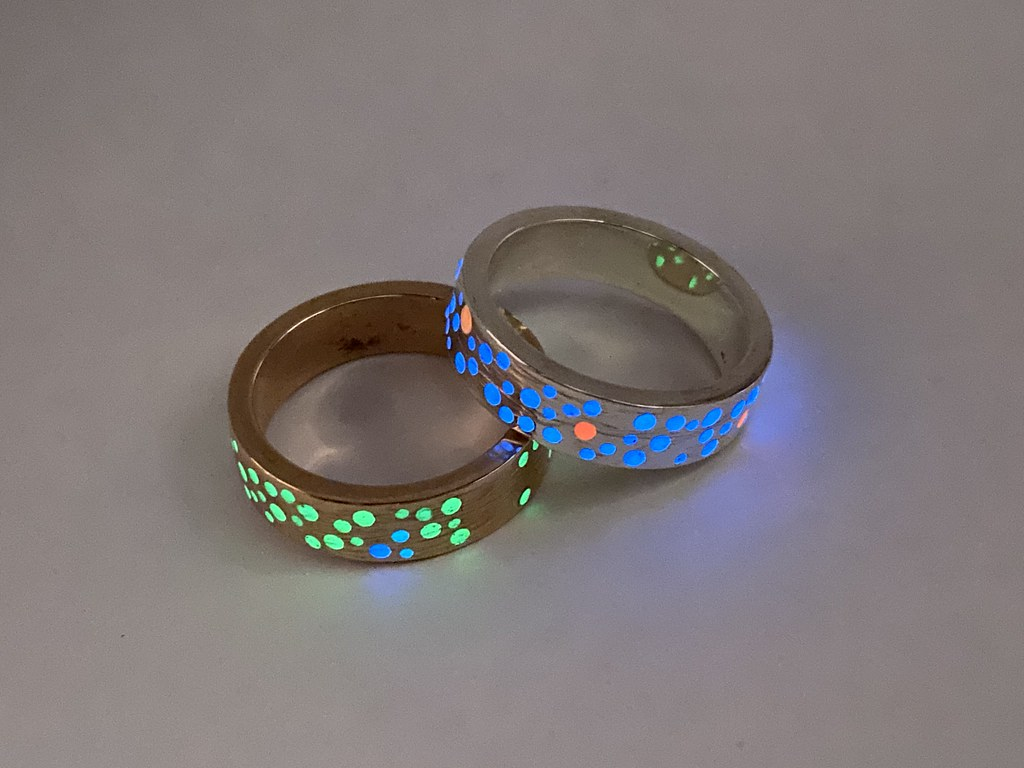 Constellation rings / Red Wolf