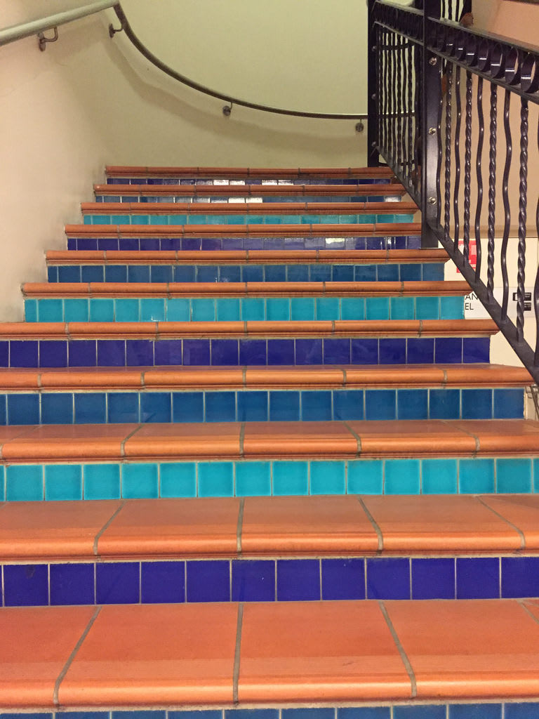 Terracotta Tile Stairs / Red Wolf