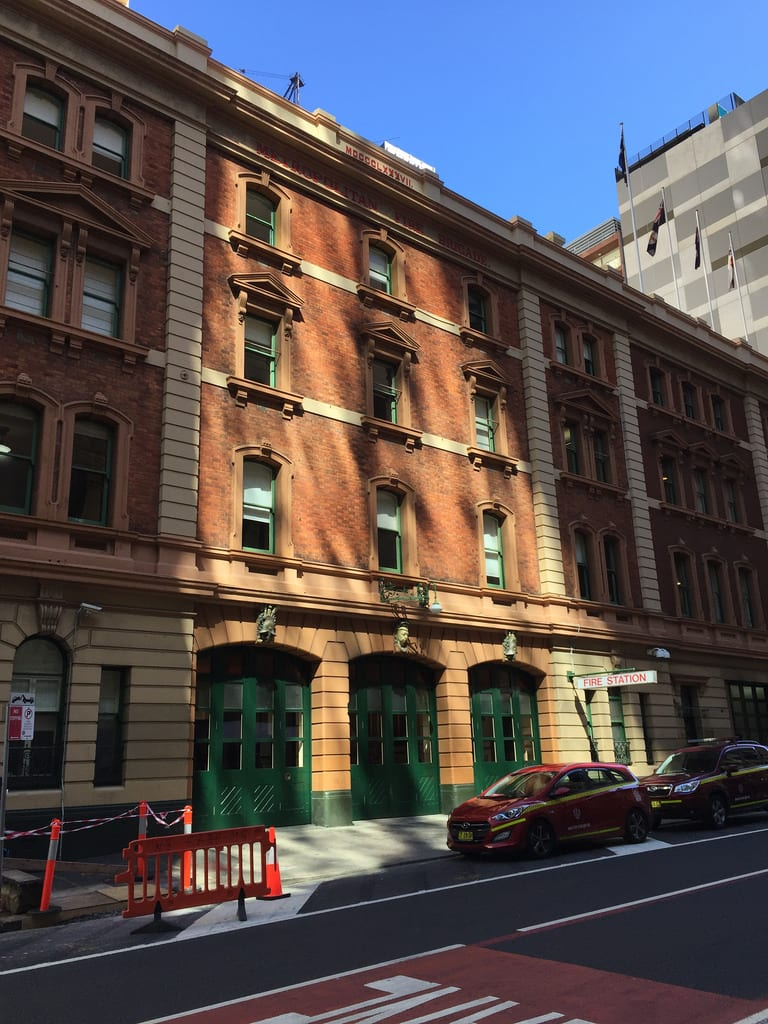 City of Sydney Fire Station / Red Wolf