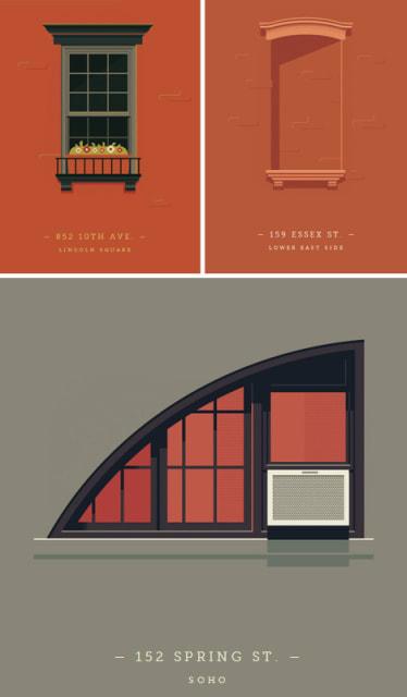 Windows of New York / Jose Guizar
