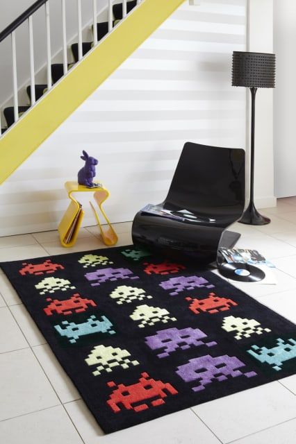 Space Rug / I Love Retro