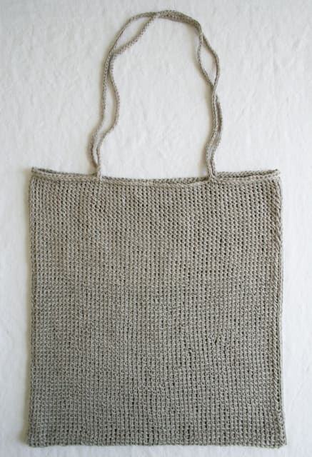 Lauras Loop: Knit Tote / The Purl Bee