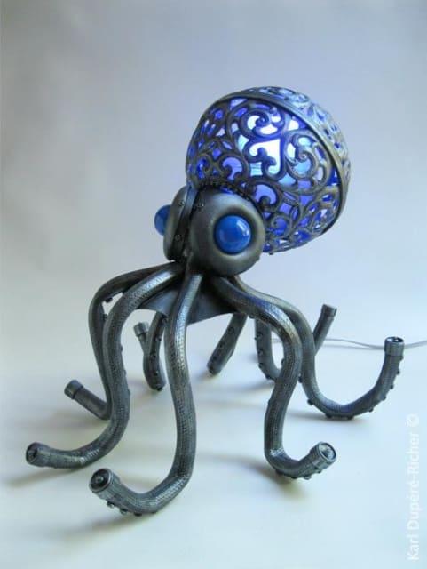 Octopus Lamp / Karl Dupere-Richer