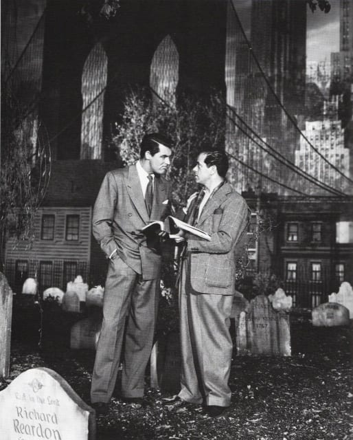 Cary Grant + Frank Capra / Arsenic and Old Lace