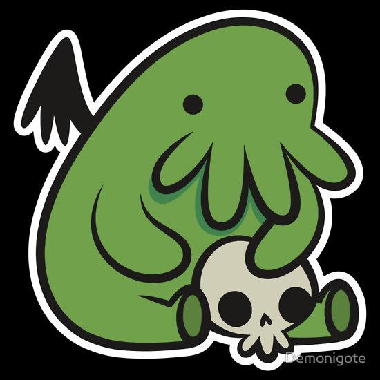 Baby Cthulhu / Demonigote
