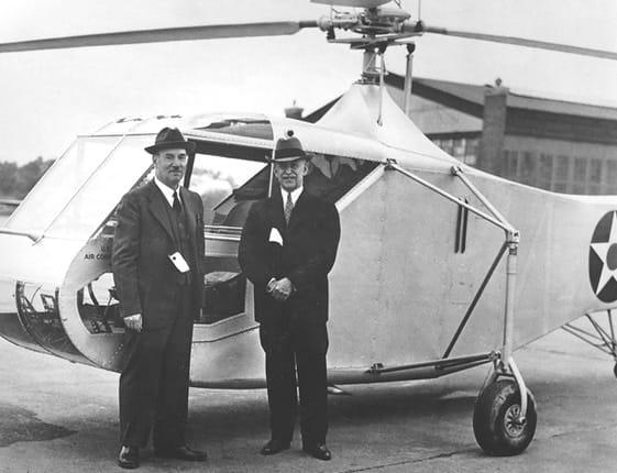 Igor Sikorsky + Orville Wright